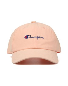 Champion Unisex Orange Small Script Logo Cap