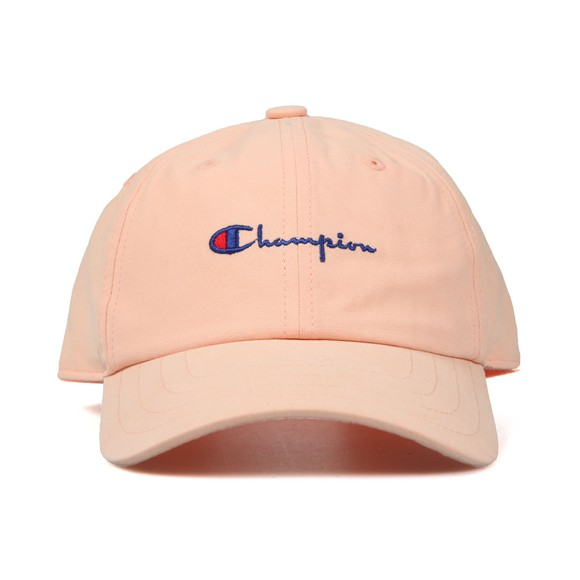 Champion Reverse Weave Unisex Orange Small Script Logo Cap main image