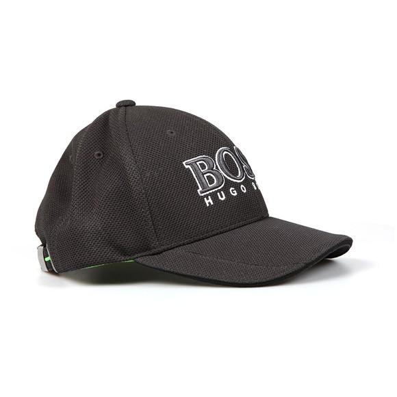 BOSS Mens Black Athleisure Large Logo Cap