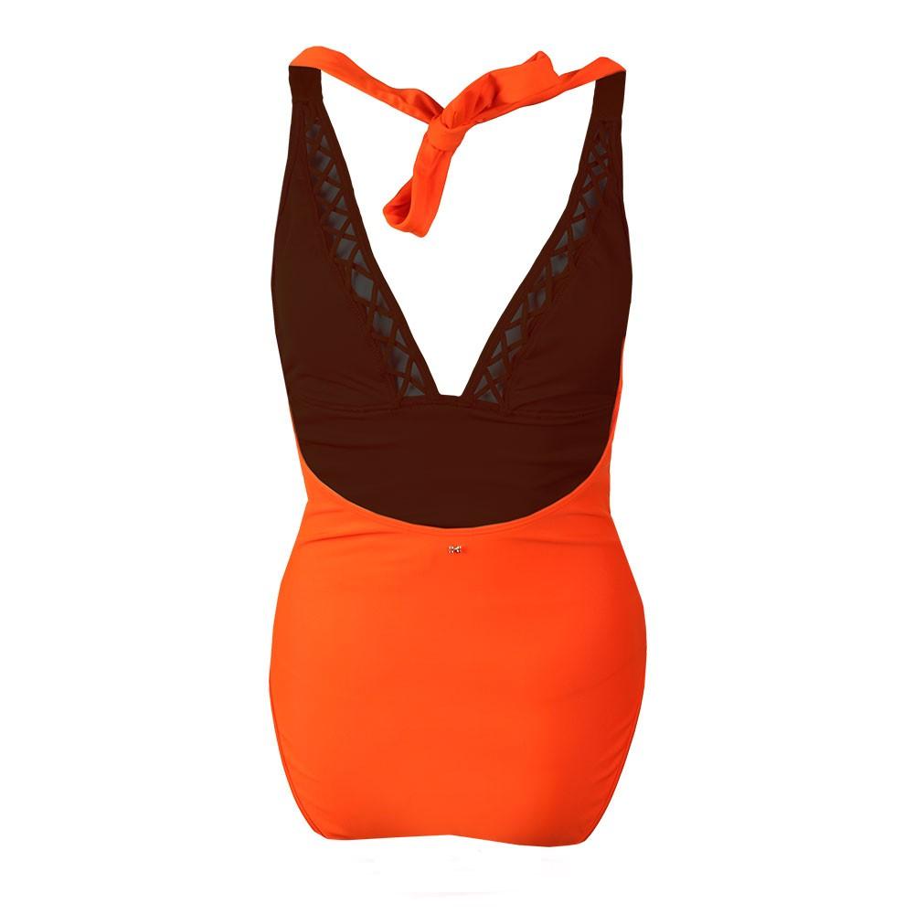 Evaana Lattice Trim & Side Swimsuit main image
