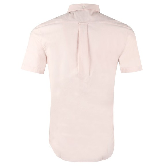 Farah Mens Pink Brewer Slim SS Shirt main image