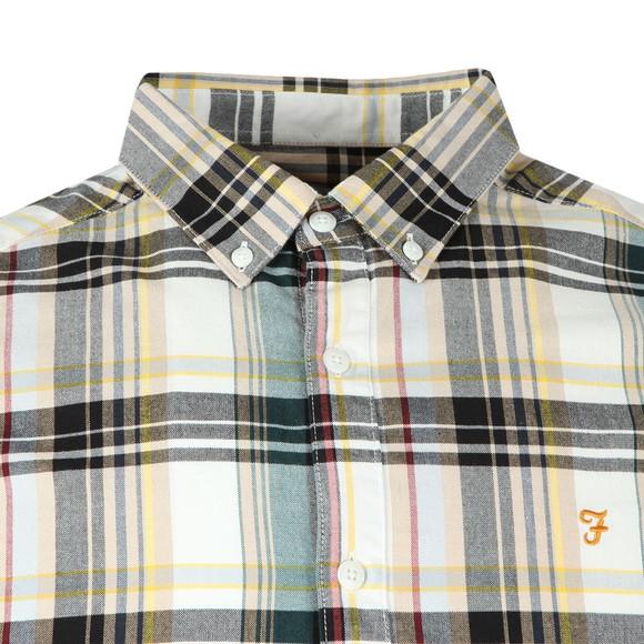 Farah Mens Off-White Bolland SS Shirt main image