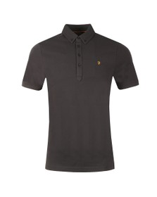 Farah Mens Black Merriweather Polo Shirt