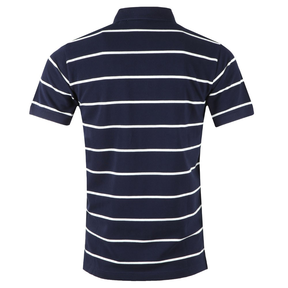 Breton Stripe Pique Rugger Polo main image
