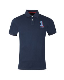 Hackett Mens Blue New Classic Polo