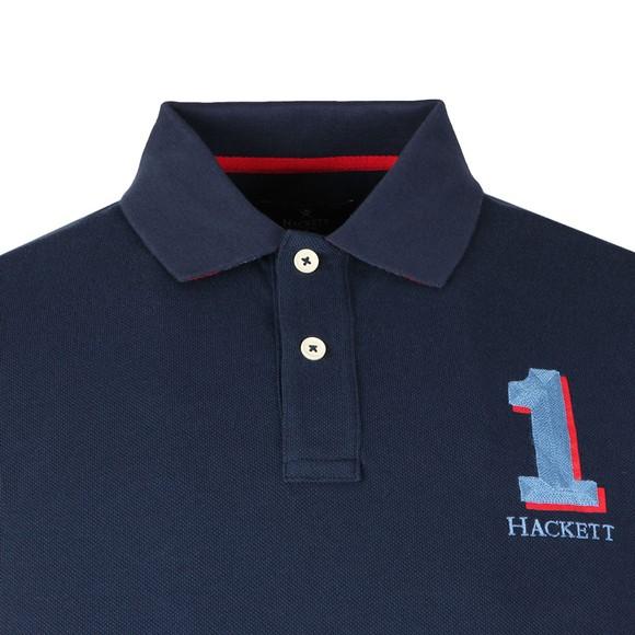 Hackett Mens Blue New Classic Polo main image