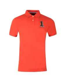Hackett Mens Red New Classic Polo