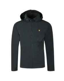 Lyle and Scott Mens Blue Fold Collar Jacket