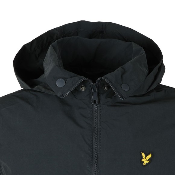 Lyle and Scott Mens Blue Fold Collar Jacket main image