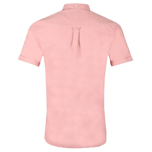 Lyle and Scott Mens Pink Oxford Shirt main image