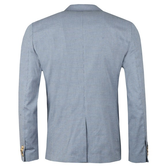 Scotch & Soda Mens Blue Chic Pattern Blazer main image