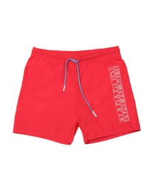 Napapijri Mens Red Varco Swim Short