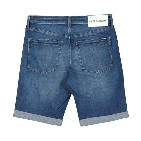 Calvin Klein Jeans Mens Blue Denim Short main image