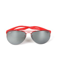 Ray-Ban Mens Red RB3460M Scuderia Ferrari  Sunglasses