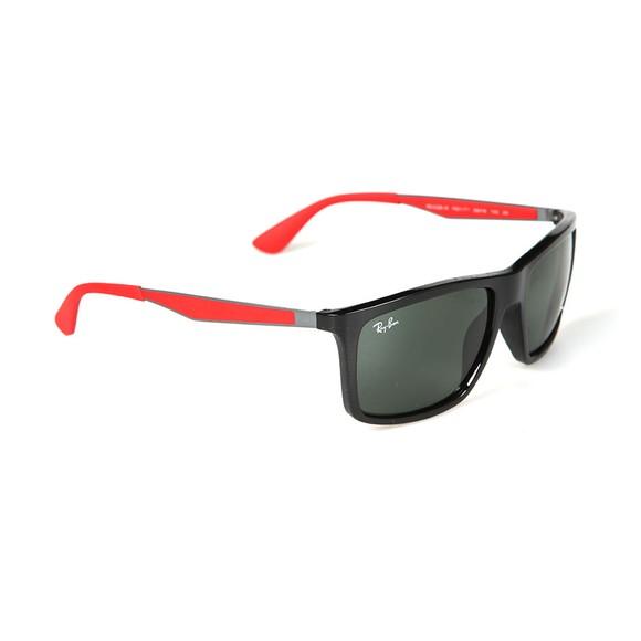 Ray-Ban Mens Black RB4228M Scuderia Ferrari Sunglasses main image