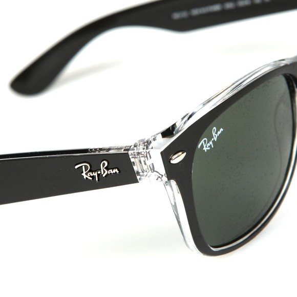 Ray-Ban Mens Black RB2132 New Wayfarer Sunglasses main image