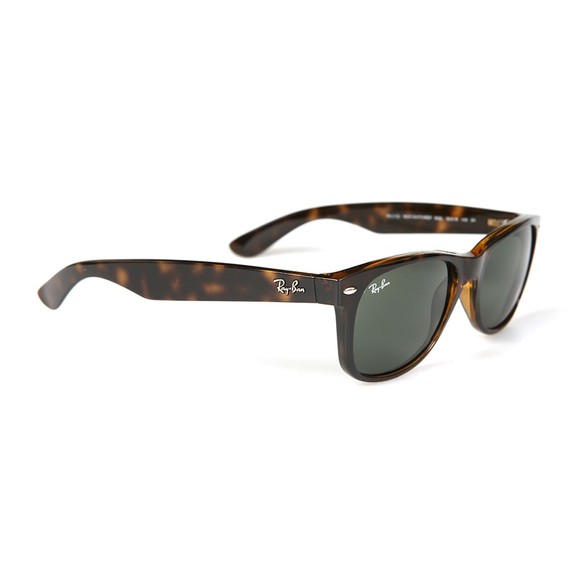 Ray-Ban Mens Brown ORB2132 New Wayfarer Sunglasses main image