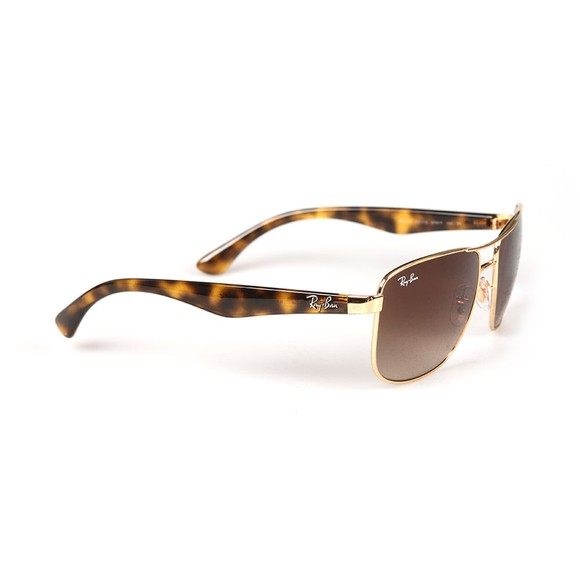 Ray-Ban Mens Gold ORB3533 Sunglasses