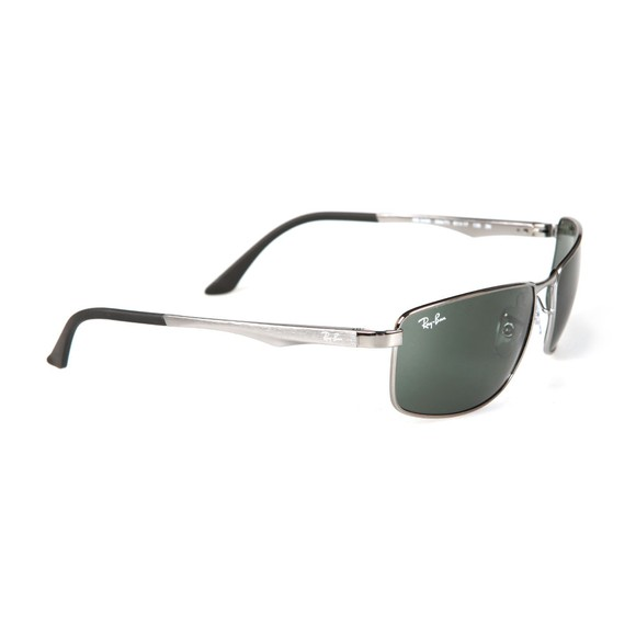 Ray-Ban Mens Grey RB3498 Sunglasses