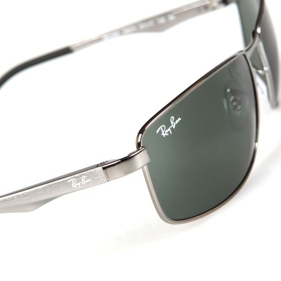 Ray-Ban Mens Grey RB3498 Sunglasses main image