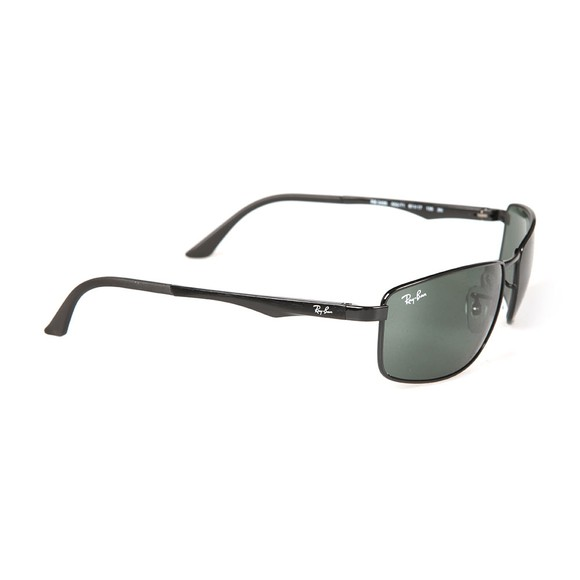 Ray-Ban Mens Black RB3498 Sunglasses main image