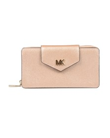 Michael Kors Womens Pink Small Conv Phone Crossbody