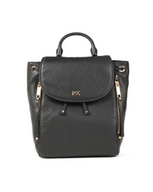 Michael Kors Womens Black Evie Backpack