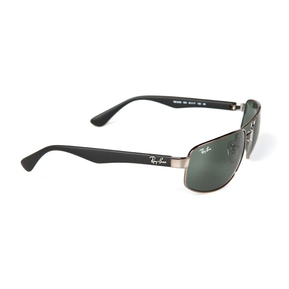 Ray-Ban Mens Black RB3445 Sunglasses