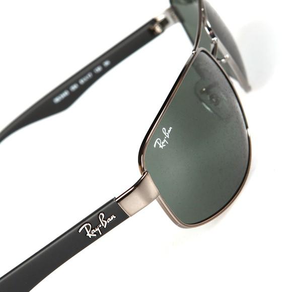 Ray-Ban Mens Black RB3445 Sunglasses main image