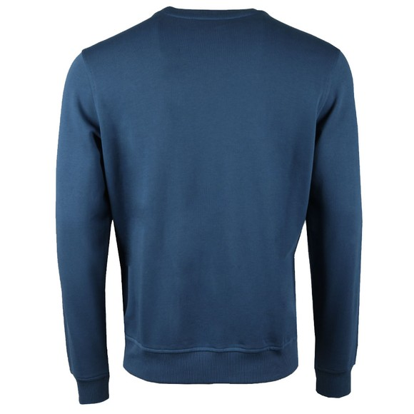 K-Way Mens Blue Augustine Macro Logo Sweatshirt main image