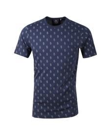 Luke 1977 Mens Blue Triumphant Printed T-Shirt