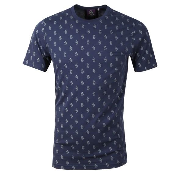 Luke 1977 Mens Blue Triumphant Printed T-Shirt main image