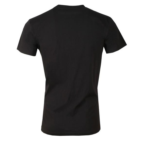Gym King Mens Black Brand Carrier Tee main image