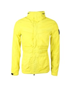 Marshall Artist Mens Yellow Garment Dyed Field Jacket