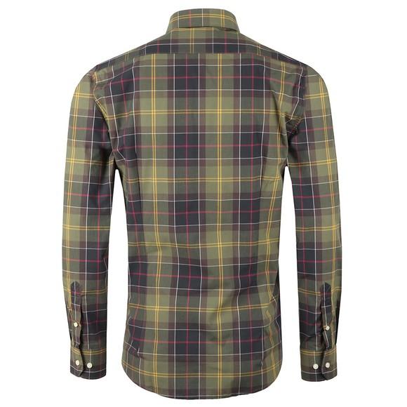 Barbour Lifestyle Mens Green Tartan 1 Tailored Shirt main image
