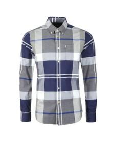 Barbour Lifestyle Mens Grey Brothwell Shirt