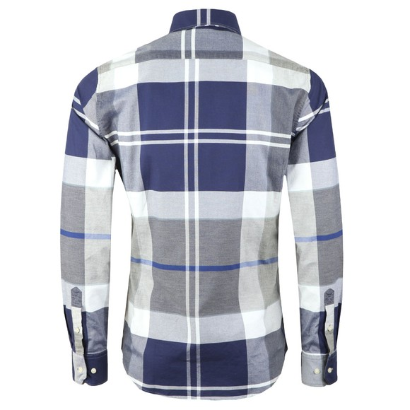 Barbour Lifestyle Mens Grey Brothwell Shirt main image