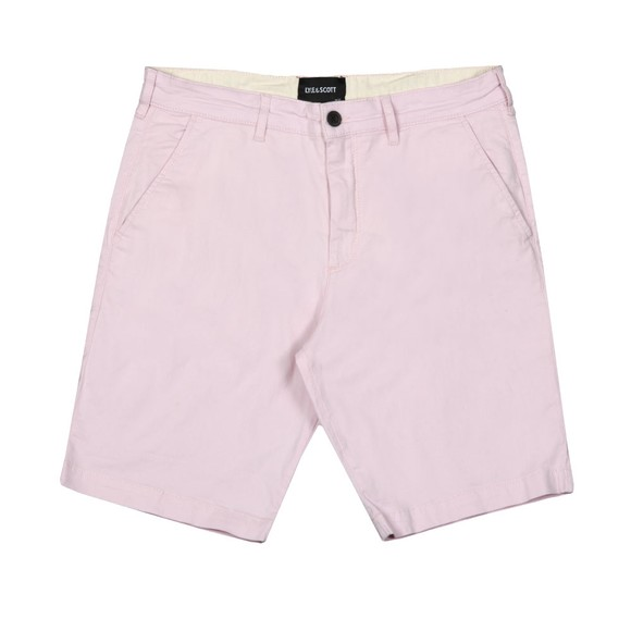 Lyle and Scott Mens Pink Chino Short main image