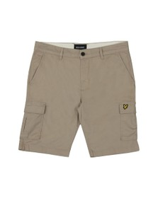 Lyle and Scott Mens Beige Cargo Short