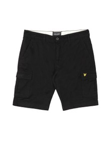 Lyle and Scott Mens Black Cargo Short