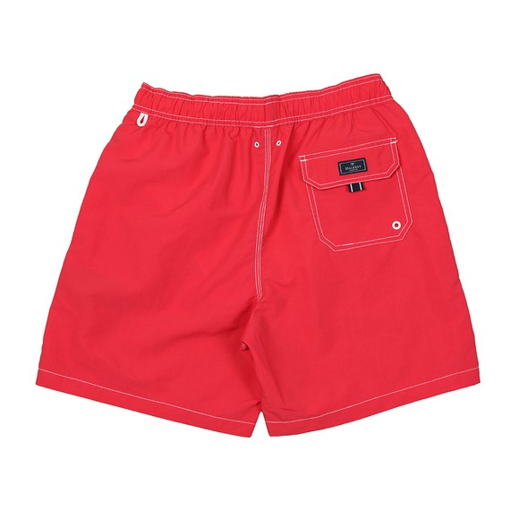 Hackett Mens Red Solid Volley Swim Short main image