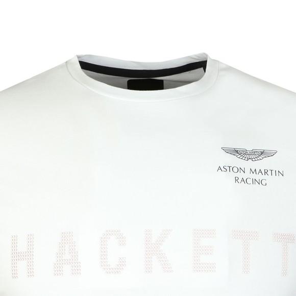 Hackett Mens White AMR Dot Print Tee main image