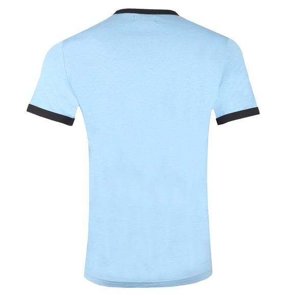 Fred Perry Mens Blue Ringer T-Shirt main image