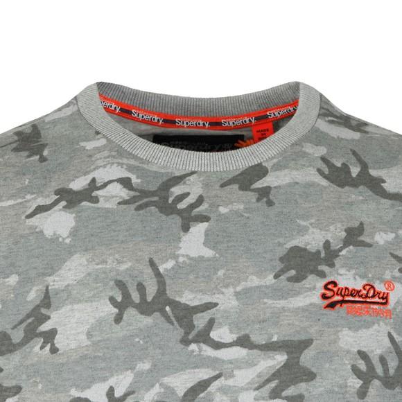 Superdry Mens Black Vintage Embroider Tee main image