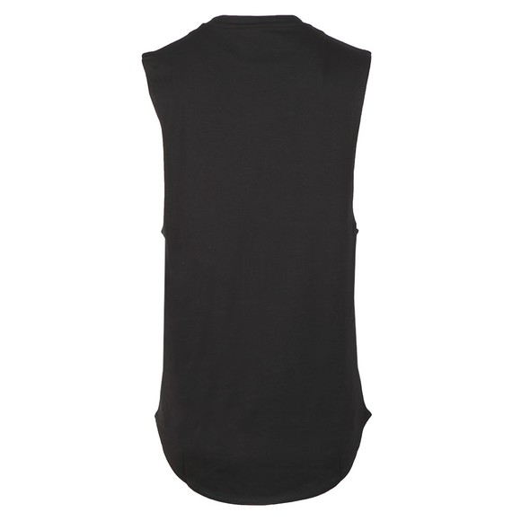 Sik Silk Mens Black Standard Drop Down Vest main image