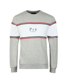Pre London Mens Grey College Sweat