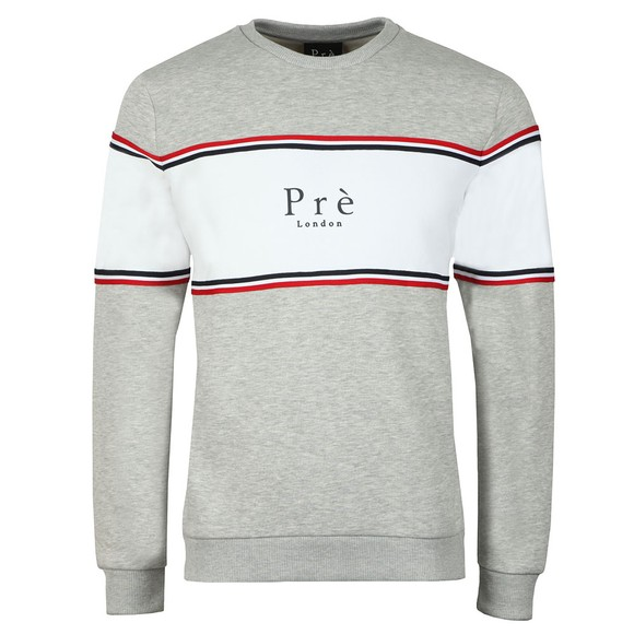 Pre London Mens Grey College Sweat main image