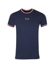 Pre London Mens Multicoloured Ringer T Shirt