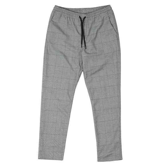 Pre London Mens Grey Prince Of Wales Trouser main image