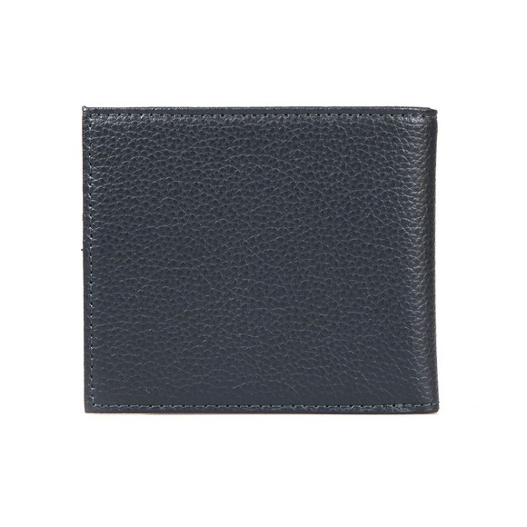 Emporio Armani Mens Blue Logo Leather Wallet main image